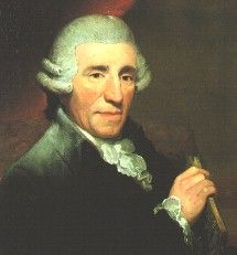 Haydn portrait by Thomas Hardy, public domain