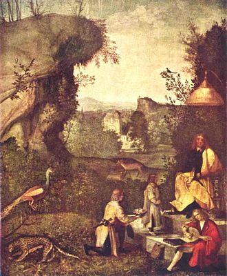 The Golden Age by Giorgione