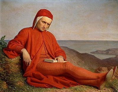 Dante in exile, author unknown