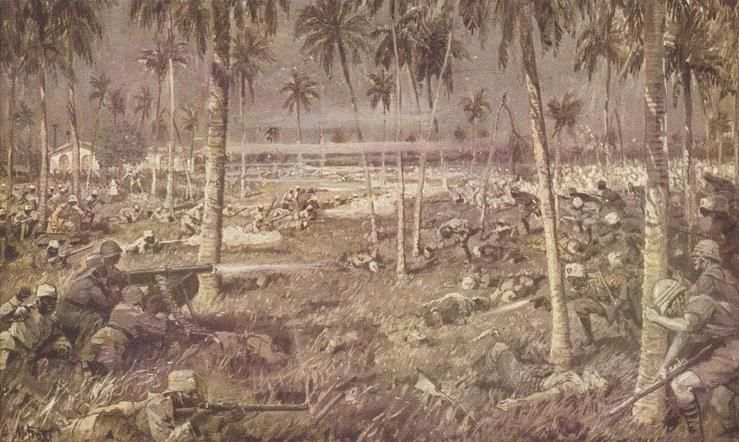 WW1 Battle of Tanga, 3rd-5th November, 1914, by Martin Frost