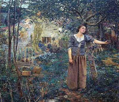 Joan of Arc, oil on canvas, by Jules Bastien-Lepage, 1879
