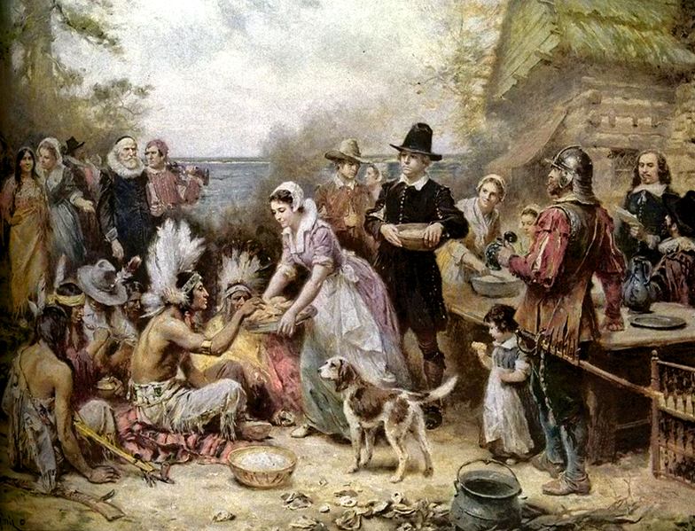 First Thanksgiving by Jean Louis Gerome Ferris