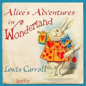 Alices Adventures in Wonderland cover art, courtesy of Librivox