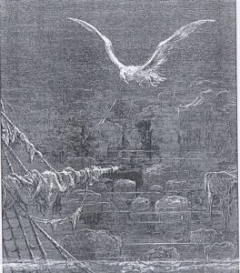Rime of the Ancient Mariner, illustrated by Gustave Dore, image in the public domain