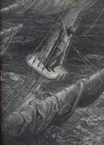 The Rime of the Ancient Mariner, illustrated by Gustave Dore, public domain image