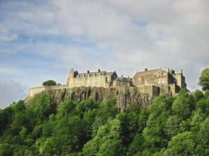 Stirling Castle, photo by Finlay McWalter, published by the author under GNU Free Documentation License version 1.2 or later