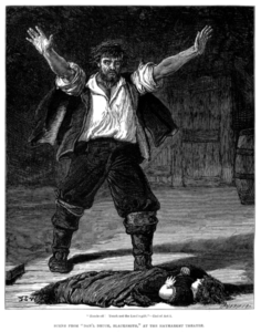 Dan'l Druce, Blacksmith takes its initial situation - the arrival of a child into a miser's life - from Silas Marner
