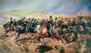 Charge of the Light Brigade by Caton Woodville