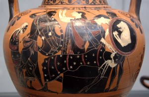 Grecian Urn, photo released to public domain by its author Bibi Saint-Pol